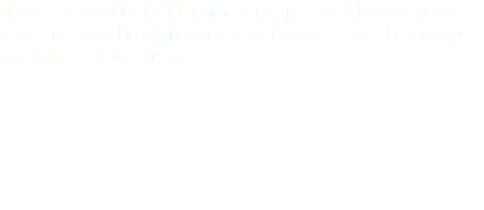 How can you benefit from our expertise.How can you save money through our rates. How can we help you avoid shipping- stress?